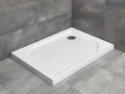 Radaway Delos D aszimmetrikus akril zuhanytálca ST 90 szifonnal