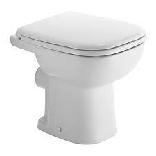 Duravit, D-Code álló WC, síköblítés, hátsó kifolyás