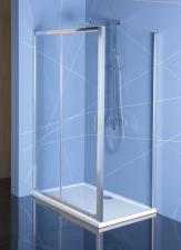 Polysan Easy Line zuhanykabin egy toló ajtóval + egy fix üveggel