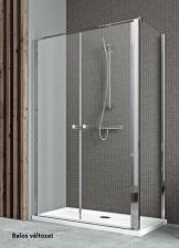 Radaway EOS II DWD+S asszimmetrikus nyílóajtós zuhanykabin