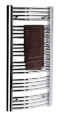ENIX FOCUS fürdőszobai radiátor 273 W, króm (FCH-609)
