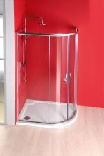 Gelco Sigma aszimmetrikus íves zuhanykabin