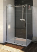 Gelco Dragon zuhanykabin egy nyíló ajtóval + egy fix fallal