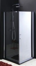 Gelco One zuhanykabin egy nyíló ajtóval és egy fix fallal