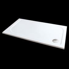 Aquatek HARD szögletes aszimmetrikus öntött márvány zuhanytálca több méretben