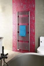 AQUALINE Fürdőszobai radiátor, íves 1330