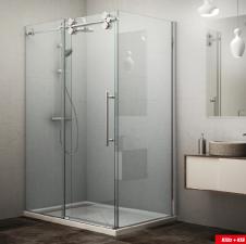 Roltechnik KINEDOOR LINE KID2 + KIB zuhanykabin egy ajtóval és egy fix fallal