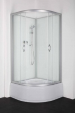 Sanotechnik Kristal komplett hátfala zuhanykabin