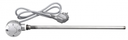 AQUALINE Elektromos fűtőpatron termosztátos 500 W, króm (LT67445)
