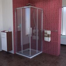 Polysan Lucis Line szögletes zuhanykabin
