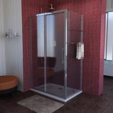 Polysan Lucis Line zuhanykabin eltolható ajtó + fix oldalfallal