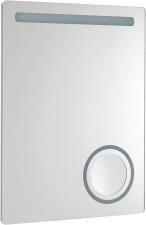 ASTRO tükör beépített kozmetikai tükörrel LED világítással 60x80 beép. kozm. tükürrel 600x800mm