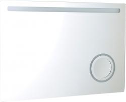 ASTRO Tükör beépített kozmetikai tükörrel, LED világítással 100x70
