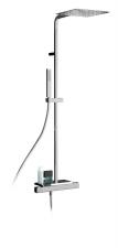NABO zuhanyoszlop termosztatikus csapteleppel, szappantartó, króm (NA79SM2151)