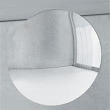 Tboss Nagyítós (3x) pipere tükör 19cm