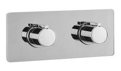 RHAPSODY-NU Falba süllyesztett termosztatikus zuhanycsaptelep, két irányú váltóval, króm (NU55L163)