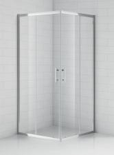Sanipro OBS2 szögletes görgős zuhanykabin