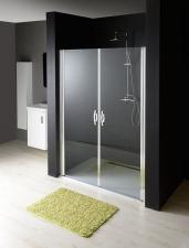 One kétszárnyú nyíló zuhanyajtó