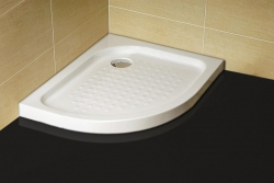 P79R íves aszimmetrikus zuhanytálca, jobbos