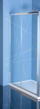 Polysan Easy Line zuhanyajtó átlátszó üveggel