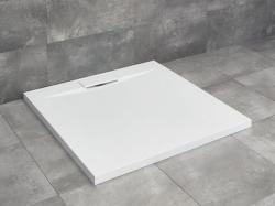 Radaway Giaros C szögletes öntöttmárvány zuhanytálca műmárvány öntött márvány