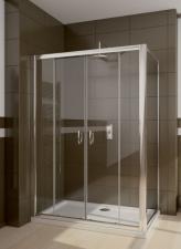 Radaway Premium Plus DWD+S szögletes aszimmetrikus zuhanykabin