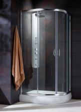 Radaway Premium Plus E1900 aszimmetrikus görgős zuhanykabin