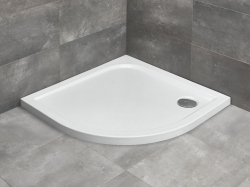 Radaway Delos A íves akril zuhanytálca Bemutató termék