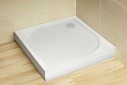 Radaway Paros C szögletes öntöttmárvány zuhanytálca