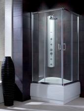 Radaway Premium Plus C1700 szögletes görgős zuhanykabin