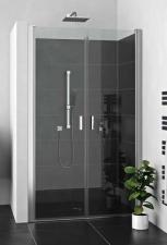 Roltechnik LZCN2 kétszárnyú zuhanyajtó két fal közé