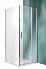 Roltechnik Tower Line TDO1 aszimmetrikus zuhanykabin egy ajtóval és oldalfallal