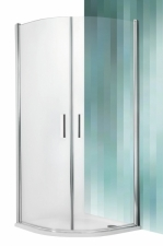 Roltechnik Tower Line TR1 íves zuhanyzó,transparent üveggel, többféle profillal
