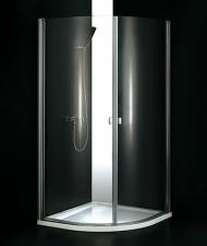 Aquatek GLASS S2 90x90 íves zuhanykabin
