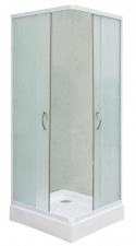 Sanotechnik TTM40W 90x90x180 cm szögletes sarokkabin tolóajtóval zuhanytálca nélkül
