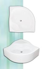 Roltechnik Semideep neo félmagas zuhanytálca