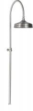 REITANO ANTEA zuhanyoszlop, fejzuhannyal, csaptelep nélkül, nikkel (SET018)