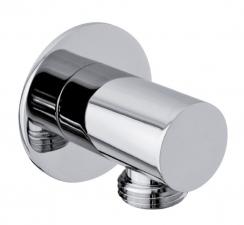 Fali csatlakozó zuhanyhoz, króm (SG202)