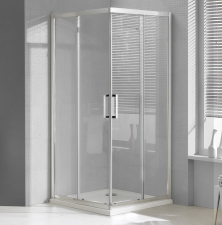 MyLine Spa Apollo két tolóajtós, szögletes zuhanykabin