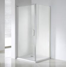 Wellis Quadrum egy nyílóajtós szögletes zuhanykabin