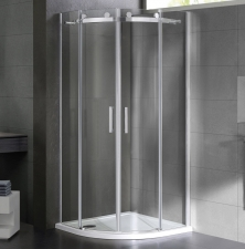 MyLine Spa Virgo két tolóajtós íves zuhanykabin