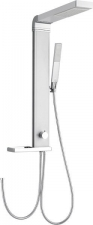 AQUALINE ROME zuhanyoszlop csaptelepre köthető, magasság 822mm, alumínium (SL760)