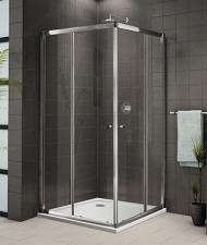 Aquatek Glass A4 szögletes zuhanykabin