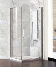 Aquatek Party A1 szögletes szimmetrikus zuhanykbain 90x90 cm