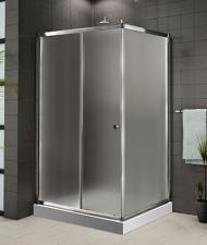 Aquatek Family aszimmetrikus zuhanykabin több méretben