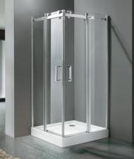 Aquatek Tekno A4 90x90 tolóajtós zuhanykabin