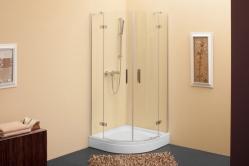 Terra TKP negyedköríves nyílóajtós zuhanykabin