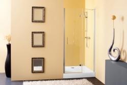 Terra TV/S zuhanyajtó két fal közé