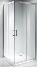 Apollo Elegant tolóajtós,szögletes zuhanykabin 80x80-as méretben