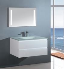 Sanotechnik üvegmosdó,szögletes